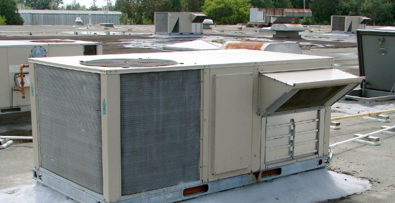 rooftop hvac with economizer