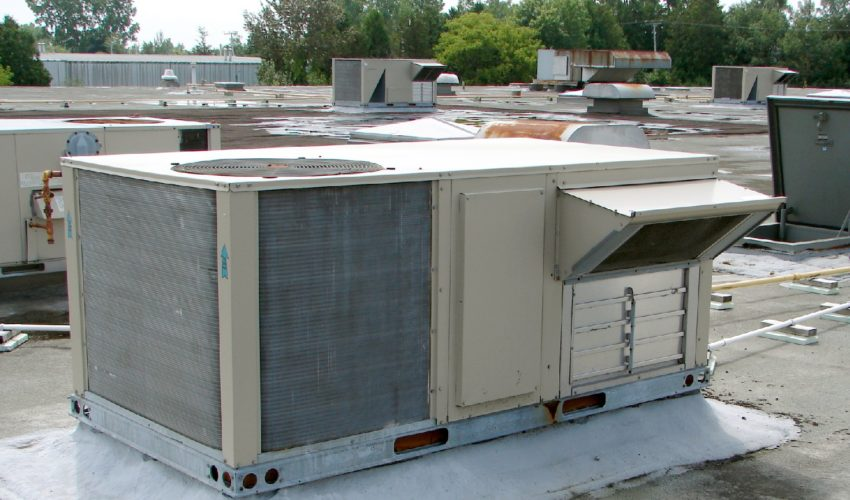 rooftop hvac with economizer